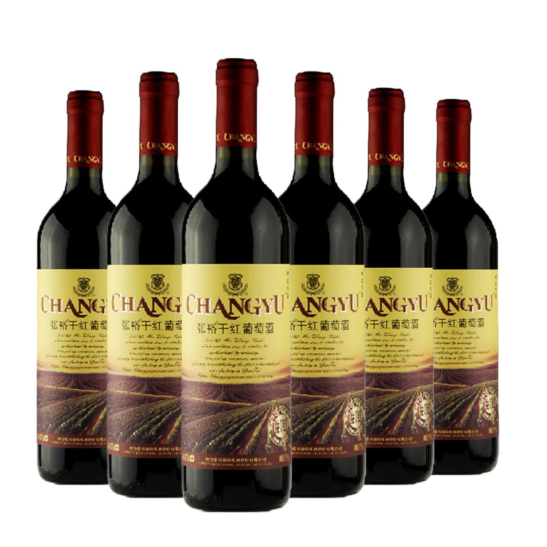 张裕干红葡萄酒 750ml*6